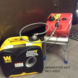 Wen 2000w Inverter Generator 6 Gallon Extended Run Fuel System