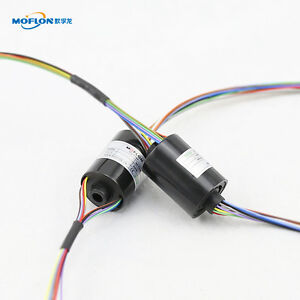 Mt0522 Moflon Slip Rings With Bore Size 5mm 12 Wires 2a Each mini Bore Slip Ring