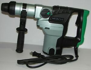 Hitachi Dh38ms Sds Max Rotary Demolition Hammer Drill Brand New
