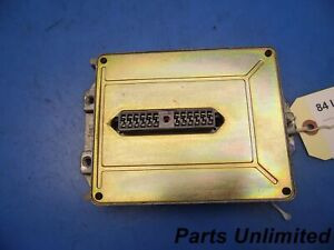84 87 Lincoln Mark 7 Vii Oem Air Ride Suspension Control Module Computer