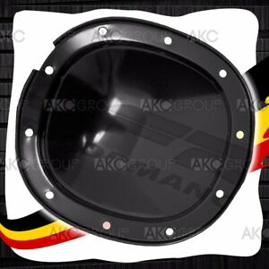 10 Bolt 7 5 7 625 Ring Gear Black Steel Rear Differential Cover For Chevy Gm