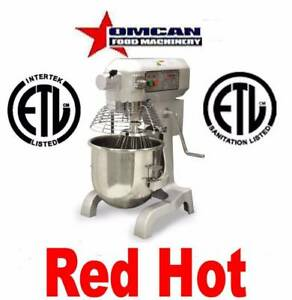 Omcan 20441 Commercial 20 Qt Restraurant Dough Food Stand Mixer Mx cn 0020 g