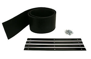Boss Part Msc13099 Utv 6 6 Ft V Plow Rubber Snow Deflector Kit