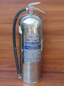 General 2 1 2 Gallon Water Pressurized Fire Extinguisher Model Ws ls900a
