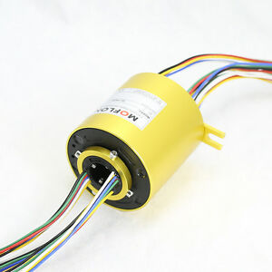 Mt2586 Slip Ring With Bore Size 25 4mm 1 24 Wires 10a Each moflon Slip Ring