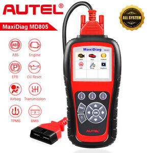 Autel Md805 Obd2 Code Reader Automotive Trouble Code Scanner Can Diagnostic Tool