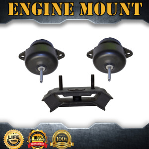 Engine Mount Auto Trans Mount Set 3pcs For 2005 2010 Ford Mustang V6 4 0l