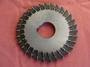 P w 4 X 132 X 1 Slotting Saw Side Chip Removal 30 Teeth Usa