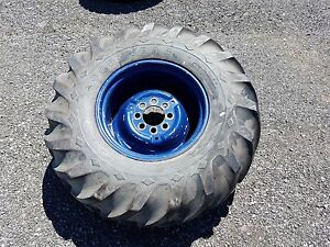 Goodyear 16 9 24 Mounted Tire For Tractor loader