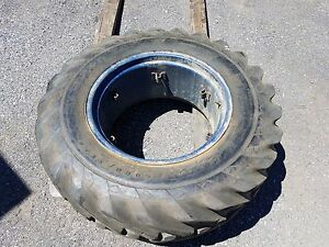 Goodyear 16 9 14 28 Mounted Tire For Tractor loader