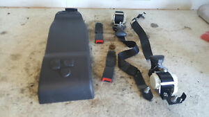 2008 2010 Ford F350 Black Rear Seatbelts Out Of An Extended Super Cab