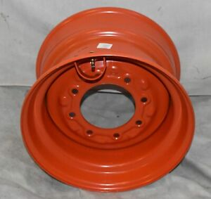 9 75x16 5 Road Warrior Wheel rim Fits Bobcat 12 16 5 Rims 12x16 5 Orange Color
