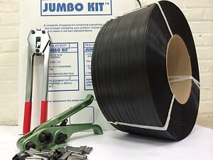 Jumbo Strapping Kit 3 4 X 032 X 1000 Lbs Brake Strength Seals Tools