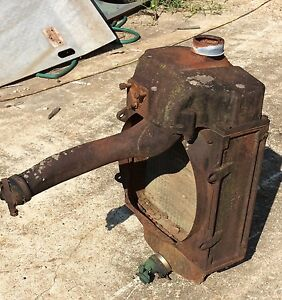 John Deere Model H Tractor Radiator Complete Or Parts