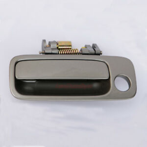 Door Handle For 97 01 Toyota Camry Outside Front Left Pearl Metallic Gray 1b2