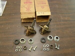 Nos Oem Ford 1957 1964 Fairlane Galaxie Mercury Ball Joints 1958 1959 1960 1961