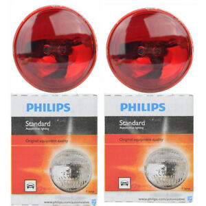 2 Pc Philips 4416rc1 Headlight Bulbs For Electrical Lighting Body Exterior Vd