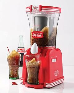 Coke Frozen Drink Maker Slush Slushie Machine Ice Slurpee Shaver