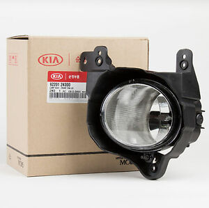 Genuine Oem Kia Fog Light Lamp Assy Left Side For 2009 2011 Soul 92201 2k000
