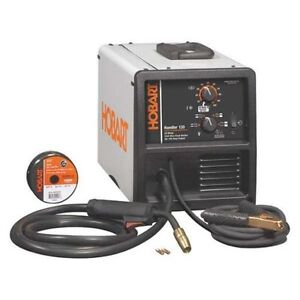 Hobart Handler 130 Wire Feed Mig Welder 500568 Welder 20 Percent Duty Cycle New