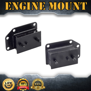 Engine Motor Trans Mount Set 2pcs For 1963 1974 Mg Mgb L4 1 8l 110cid