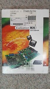 Atmel At91 Series Armthumb Microcontrollers Evaluation Kit At91eb40a