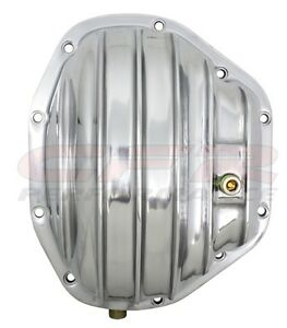 Gm Ford Dodge Dana 80 Polished Aluminum Differential Cover 10 Bolt W 12 Rg