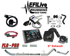 Efi Live Tuner 13 To 17 Dodge Ram 6 7 For Cummins Dpf Egr Def Delete Csp4 5 Cai