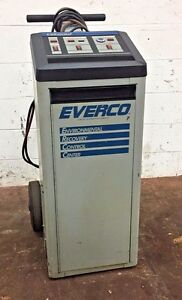 Everco A9950 Rcfc 12 Recycling Refrigerant Recovery Recharging Machine 256