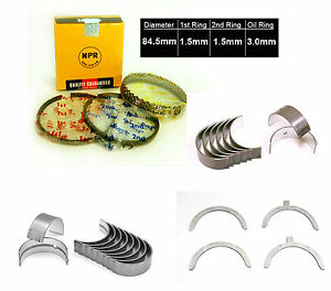 93 02 Mazda 626 Mx6 Millenia Ford Probe 2 5l Engine Bearings Rings Set Kl Dohc