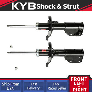 Set Of 2 Front Pair Kyb Struts Shocks Suspension For 2002 2003 Mazda Protege Es