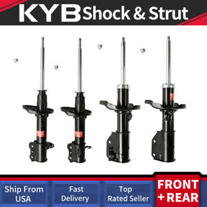 Front rear Kyb Struts Shocks Suspension For 2002 2003 Mazda Protege Lx