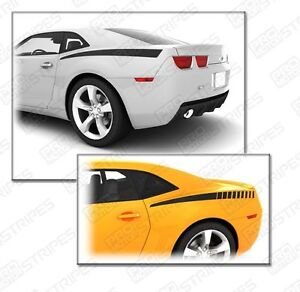 Chevrolet Camaro 2010 2015 Rear Quarter Side Accent Stripes Decals Choose Color