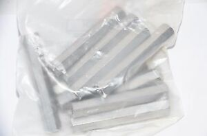 Lot Of 70 New Mcmaster carr Aluminum Female Threaded Hex 8 32 X 2 5 16