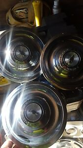 1967 Chevrolet Rally Wheel 3 Center Caps Hubcaps 552269