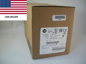 ships Today 2016 Allen Bradley 22a d8p7n104 Power Flex 4 Drive New Sealed 5hp