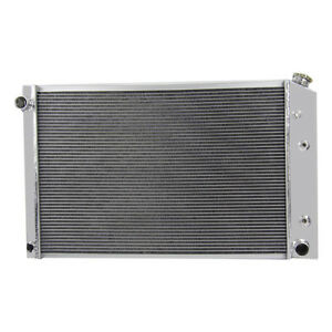 3core Aluminum Radiator For Chevy Pickup Trucks 73 87 Truck 21 X 33 81 91