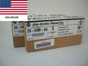ships Today 2016 Allen Bradley 20 him a6 Human Interface Module