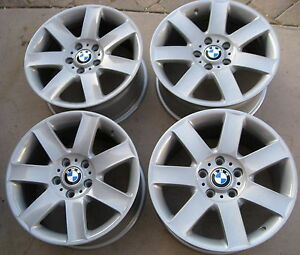 Bmw E36 E46 318i 318ti 325i 328i 323i M3 Oem 17 Star Spoke Style 44 Wheels Rims