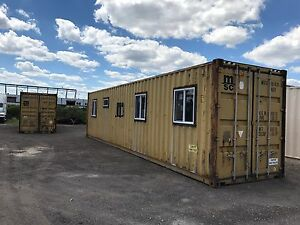 40 Shipping Container Home Shell
