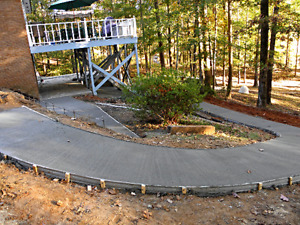 Flexible Concrete Masonry Forms For Sidewalks Pool Deck continuous 50 Roll