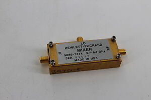 Agilent 5086 7374 Low Band Mixer Assembly 3 7 6 1ghz