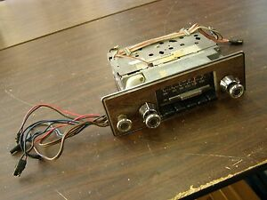 Oem Ford 1971 1972 Galaxie Am Fm Radio 500 Xl Ltd