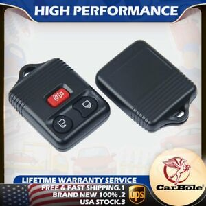 Set Of 2 Keyless Entry Remote Control Car Key Fob For Ford Expedition F 350 Flex