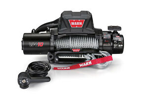 Warn 96810 10 000lb Vr10 Winch 12v Hawse Fairlead W 80 3 8 Wire Cable Rope