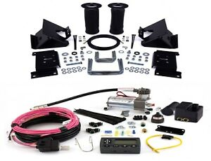 Air Lift Suspension Air Bag Wireless Air Compressor Kit For Ford F150 Rwd 4wd