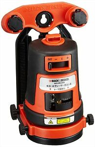 Black Decker Projected Crossfire Auto Level Laser Bdl310s