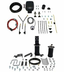 Air Lift Control Air Spring Dual Path Air Compressor Kit For S10 jimmy 2 door