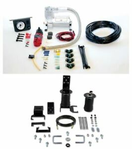 Air Lift Suspension Air Bag Dual Path Leveling Kit For Isuzu Toyota Pickup