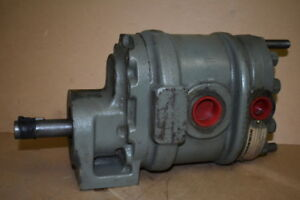 Hydraulic Gear Pump Tandem 26gpm 11gpm A220 42 Commercial Shearing